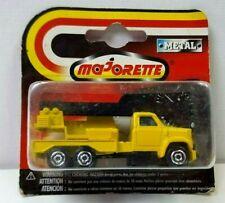 Detailed Majorette No 283 251 3 Axle Crane Truck 360 Rotation Crane brcs5gb4j