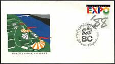 Australia 1988 Expo, British Columbia día cubierta #C44051