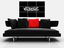"WILDSTYLEZ BORDERLESS MOSAIC TILE WALL POSTER 35""x 25"" HARDSTYLE DUTCH DJ"