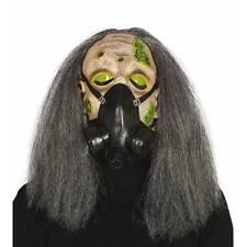 Zombie Man Nuclear Gas Mask Hazmat Chemical Apocalypse Halloween Fancy Dress