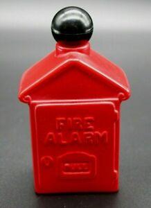 """Avon Fire Alarm Box  After Shave Empty """"Avon Spicy"""" New York, Vintage 1974"""