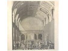 1 Orig  Kupferstich v.KOK W. 1793 AMSTERDAM SCHEPENS ZIMMER