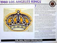 1980 LOS ANGELES KINGS Willabee & Ward NHL THROWBACK HOCKEY TEAM LOGO PATCH Card