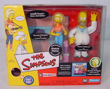 Simpsons MOBILE HOME Environment~ 2002 Exclusive~ PLAYMATES~ MIB~ homer~ a