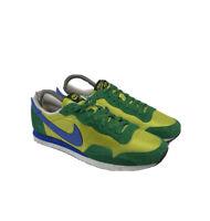 Nike Air Zoom Pegasus FC CBF Brazil Blue Yellow Boca Shoe Men US 9.5 Futbol Club