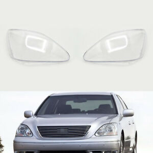 For Lexus LS430 2004~2006 Car Headlight Headlamp Clear Lens Auto Shell Cover