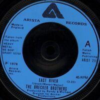 "THE BRECKER BROTHERS east river/petals ARIST 211 uk arista 7"" WS EX/ jazz funk"