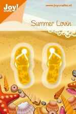 Joy! Crafts Cutting & Embossing Die ~ Summer Lovin Flip Flops ~ NIP