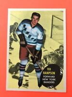 Ted Hampson 1961-62 Topps #59  Vintage Hockey Card