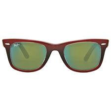 Ray Ban Original Wayfarer Pixel Green Mirror Sunglasses RB2140 12022X 50