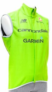 Castelli Cannondale Garmin Pro Cycling Team Wind Vest Men 2XL Road Bike GORE
