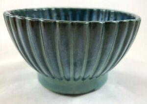 UPCO POTTERY USA #401 Blue Bowl Planter