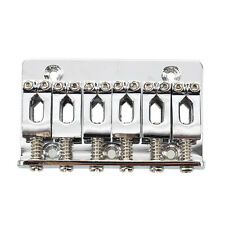 Chitarra elettrica Ponte Gambe Hardtail con viti d'argento chiave S8N9