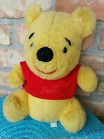 """Vintage Sears Walt Disney Productions Winnie The Pooh 11"""" Plush Stuffed Animal"""