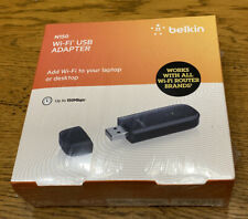 Genuine Belkin N150 Wi-Fi USB Adapter BRAND NEW