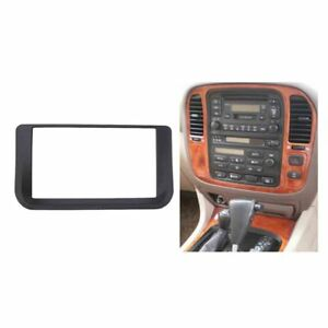 2 Din Radio Fascia for Lexus LX470 Toyota LC100 Dash Kit Frame Installation
