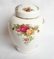 Royal Albert Old Country Roses Ginger Jar and Lid - China - 1st Quality
