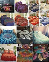 Quilt Duvet Cover King Size Mandala Hippie Gypsy Indian Doona Cover Bedding Set