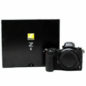 Nikon Z6 Mirrorless Camera 4K UHD Display 24.5MP WiFi Body Only with Memory Card