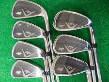 New Callaway X2 Hot Pro iron set 4-PW Project x 95 6.0 stiff flex steel irons