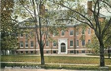 C-1910 Brooks School West Medford Massachusetts Leighton postcard 12476