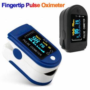 Quality Pulse Oximeter Blood Oxygen Saturation SpO2 Meter Fingertip PR Monitor