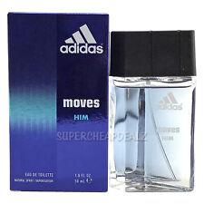 Adidas Moves for Him 1.6 oz EDT Spray NIB AUTHENTIC
