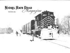 Nickel Plate Road Winter 91 Freight Car Fleet Box Car WWII World War Two Troops