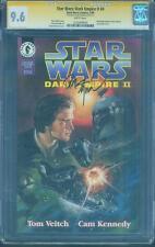 Star Wars Dark Empire II 4 CGC SS 9.6 Dave Dorman Boba Fett Cardstock Cover no 8