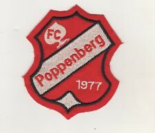 Fabric Patches Patches FC Poppenberg 1977 Football Association