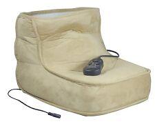 Soft Relaxing Dual Speed Electric Foot Massage & Heated Foot Warmer Boot #VM949J