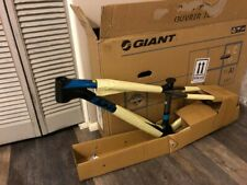 2016 Giant XTC ADVANCED SL 0 FRAME MATTE BLACK/BLUE - Brand New! Factory Package