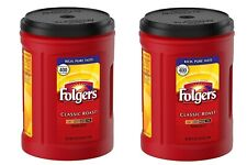 Folgers Classic Roast Ground Coffee 51 OZ Each Pack of 2