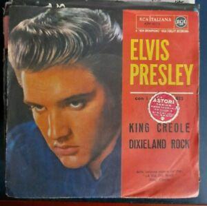 45 GIRI - ELVIS PRESLEY - KING CREOLE