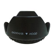 58MM Tulip Petal Flower Lens Hood for Canon Rebel T6i T5i T5 T4i T3i 18-55mm