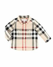 Burberry Boys' Check Long-Sleeve Shirt 3Y
