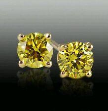 Excellent Cut VVS1 Fine Diamond Earrings