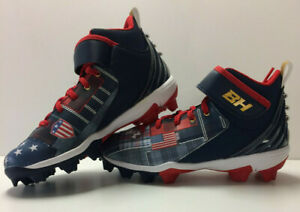 Under Armour Boys UA 2021 Harper 5 Mid RM Youth Baseball USA LE Molded Cleats