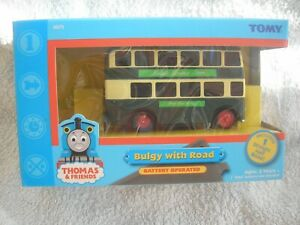 TOMY TRACKMASTER BULGY WITH ROAD BRAND NEW