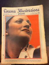 Cinema Illustrazione 1938 XIII n° 2 Doris Durant  23/12