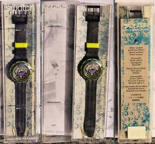 orologio SWATCH SCUBA 200 BOMBOLA SDB103 del 1993 NUOVO con scatola