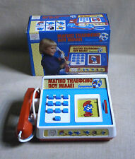 """Magic Talking Phone"" SMURFS PEYO NIB el greco LILLIPUT HASBRO Made in USA 1974"