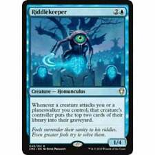 1x Riddlekeeper NM-Mint English Commander 2011 MTG Magic