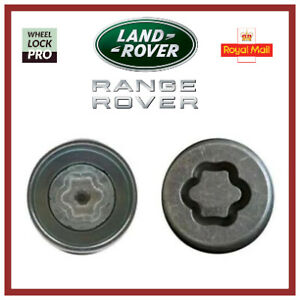 Land / Range Rover Discovery Evoque Freelander Velar Locking Wheel Nut 'Key N'