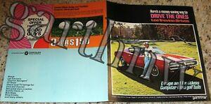 LEE TREVINO RARE 1972 DODGE PICTORIAL BROCHURE & FAULTLESS GOLF BALL ADVERT
