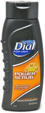 Dial For Men Power Scrub Deep Clean Body Wash Orange Oil & Micro Scrubbers 16 oz