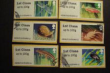 Machine Cancel Decimal Used British Stamps