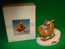Charming Tails A One Mouse Open Sleigh