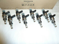8x RS4 B8 RS5 8T 4.2 FSI CFSA Genuine fuel injector injection valve