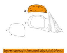 FIAT OEM 2016 500X Front Door-Side Rear View Mirror Right 6AN97LXHAA